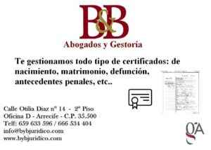 bybjuridico calendario certificados